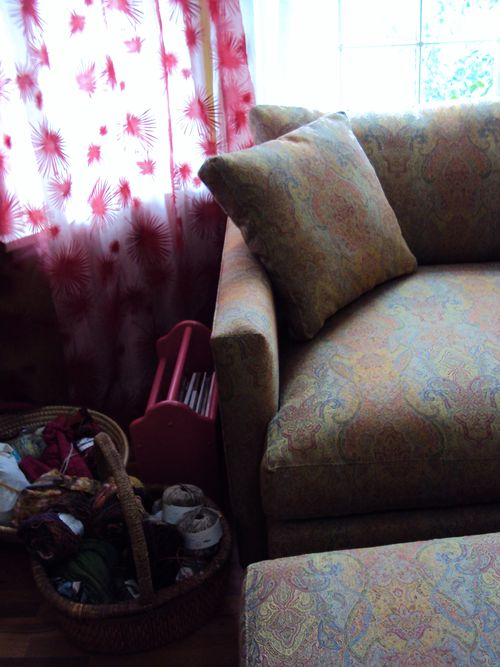Knitting chair 006