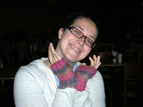 Wristwarmers for Kat